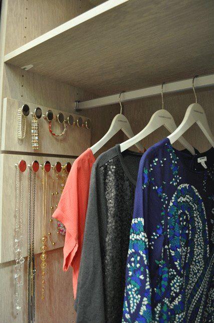 Slide Out Necklace U0026 Bracelet Storage Racks, California Closets