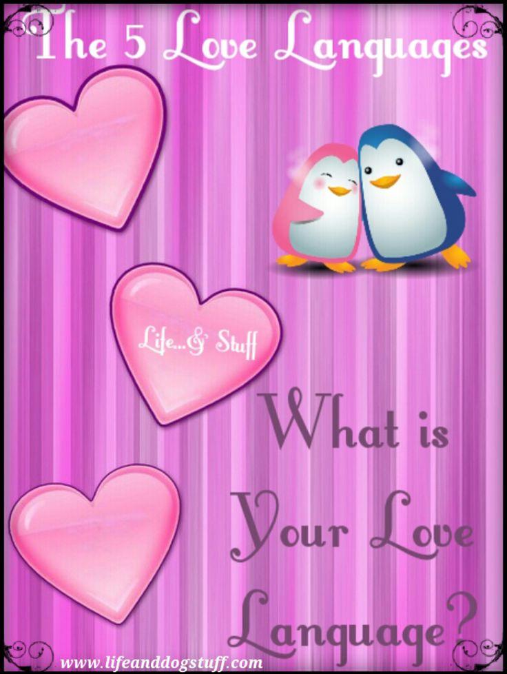 The 5 Love Languages. #blogger #blog