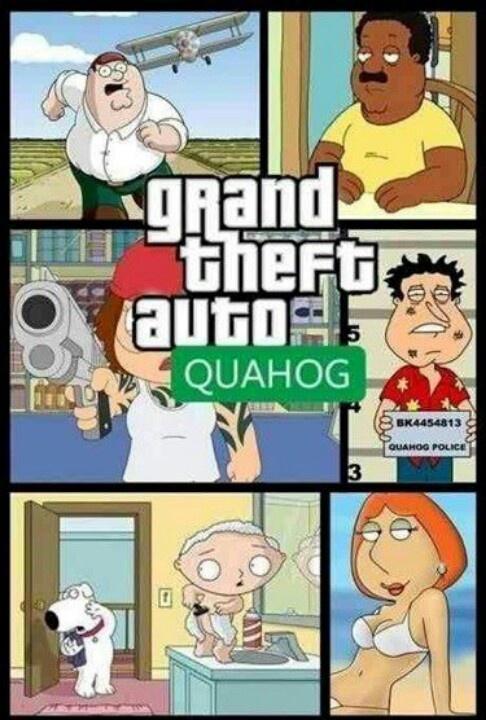 Grand Theft Family Guy