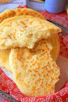 Bazlama pain turc à la poêle / Ramadan 2016