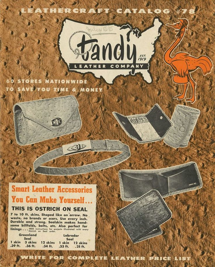 Tandy Leather Catalog 64
