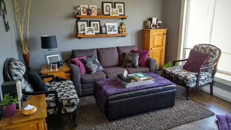 My living room transformation.