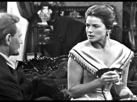 """Henrik Ibsen drama """"Hedda Gabler"""" [UK_1963 (TV)] with  Ingrid Bergman & is that Sir Michael Redgrave as Tesman??"""