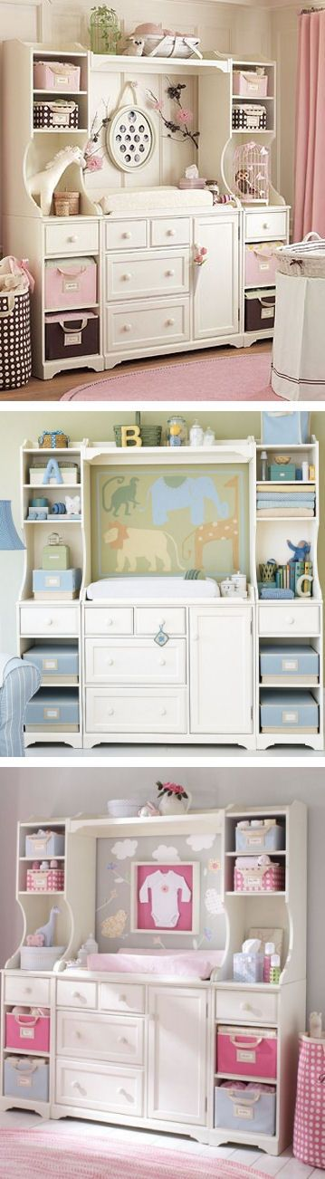 Baby Changing Table, cute, babies, nursery, furniture, nursery furniture, pottery barn, expensive