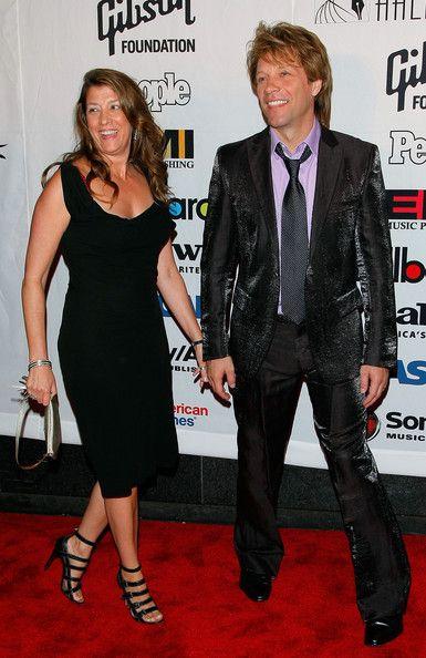 Jon Bon Jovi with Dorothea Hurley