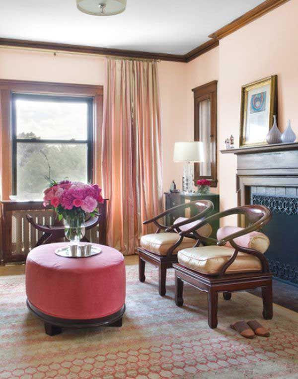 10 Colores Que Combinan Con El Marron Salones Marrones Paredes Del Salon Muebles Oscuros