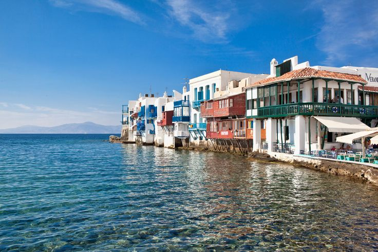 #MyconianTip: Little Venice is the place to visit as It is one of the most romantic places in Mykonos!   A picturesque neighborhood of Mykonos where the houses seem as if they are build on the sea!