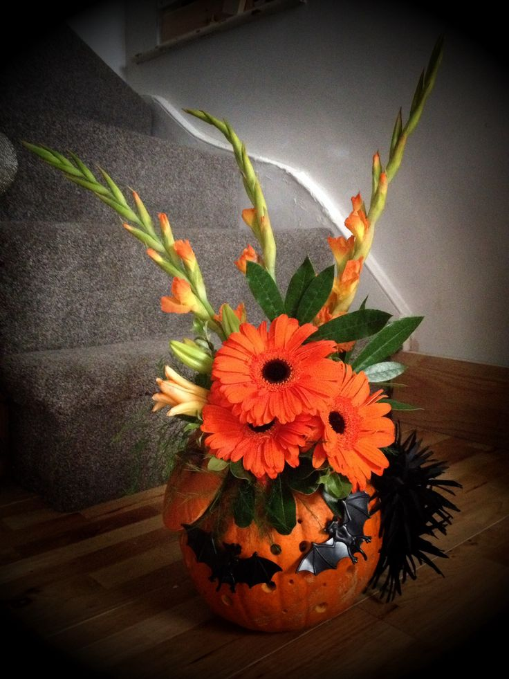 54 Best Images About Halloween Flowers On Pinterest