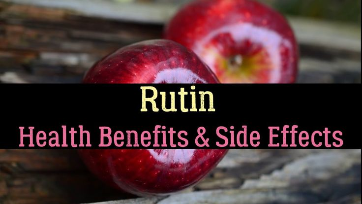 Rutin – Food Sources, Health Benefits & Side Effects