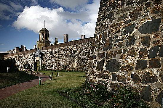 The Castle of Good Hope - The earliest development in South Africa. The oldest building in South Africa. Builded by Jan van Riebeeck  ,  between 1666 and 1679. Orginally called Kasteel de Goede hoop