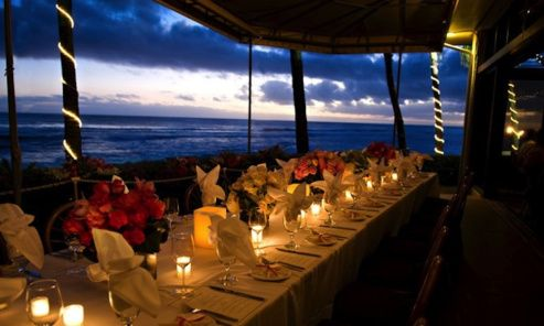 The Beach House Kauai is named one of the 15 Most Romantic Restaurants in America
