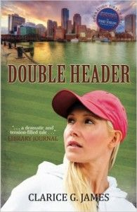 DOUBLE HEADER cover - C James