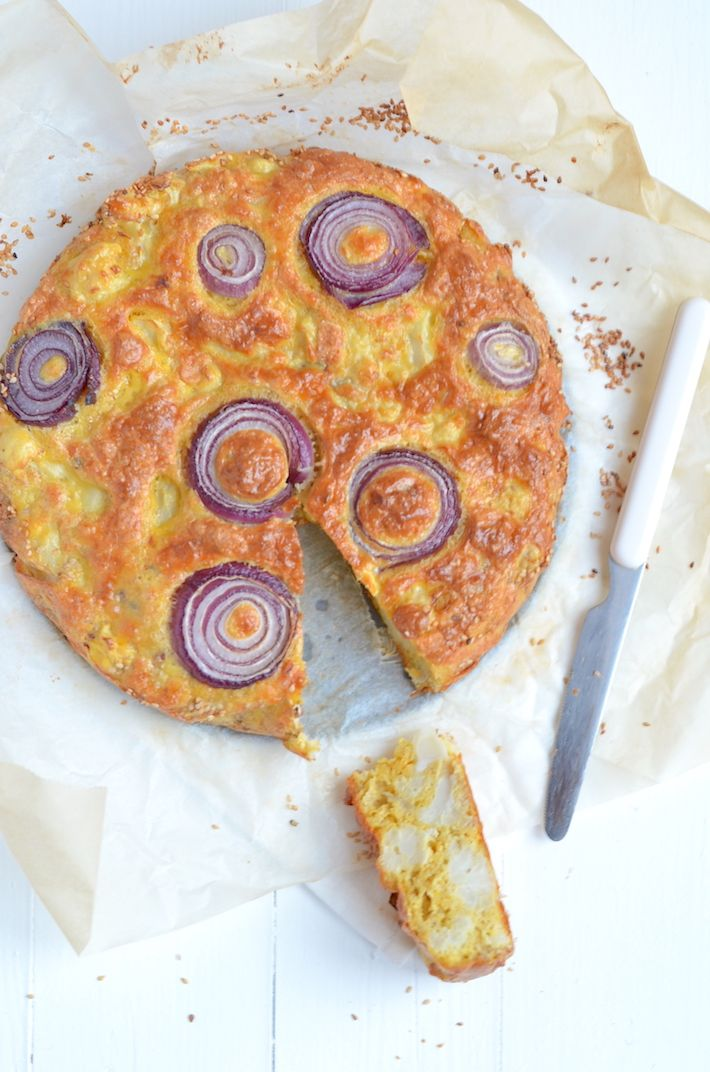 ottolenghi's bloemkooltaart #ottolenghi #cauliflower