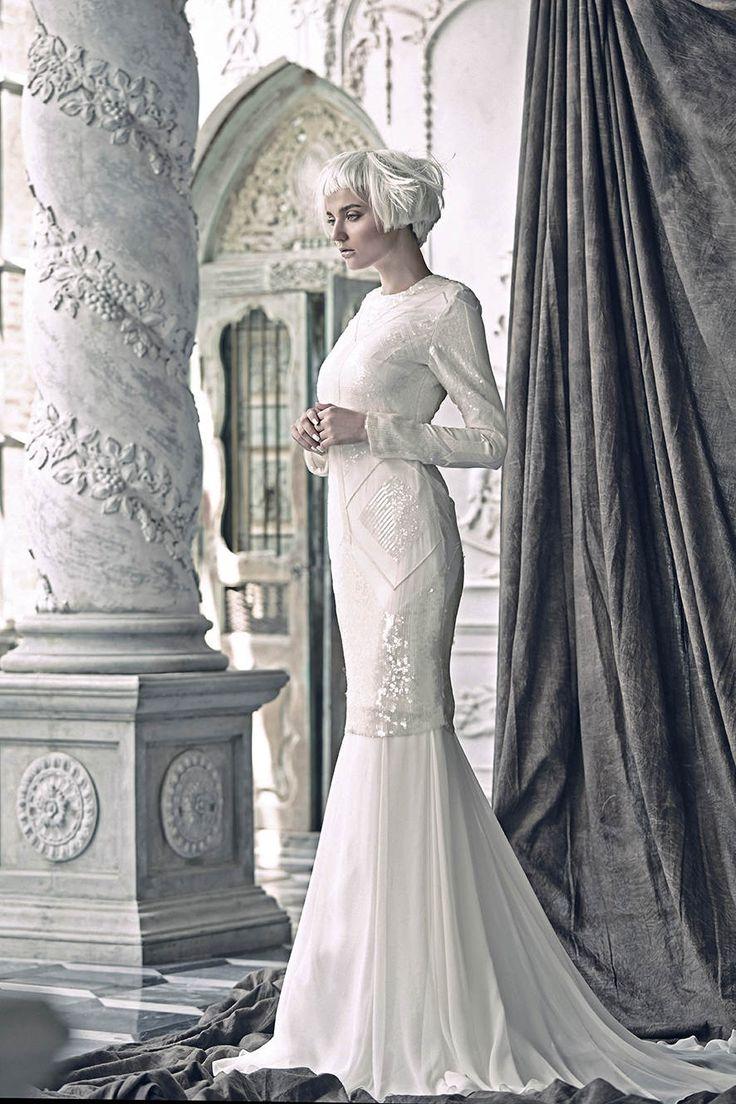 Nurit Harith Bridal Opulence Collection - Flynn #tznius
