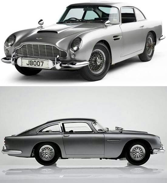 "Aston Martin DB5 -=- The ""James Bond"" Car, Stunning Beauty As Perfect for his Character  Personality"