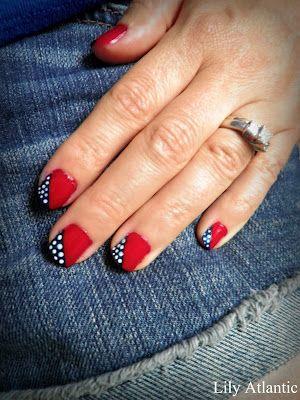 Lily Atlantic: DIY- Patriotic Nails