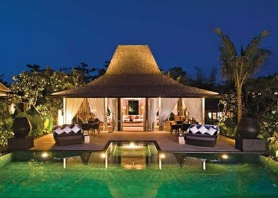 Tropical oasis.