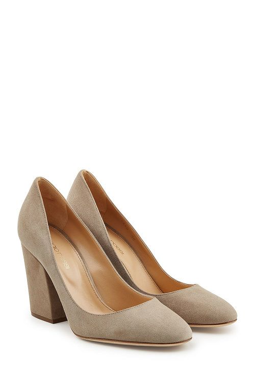 SERGIO ROSSI Suede Pumps. #sergiorossi #shoes #