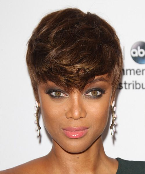 Tyra Banks Ponytail Hairstyles: Best 25+ Tyra Banks Short Hair Ideas On Pinterest