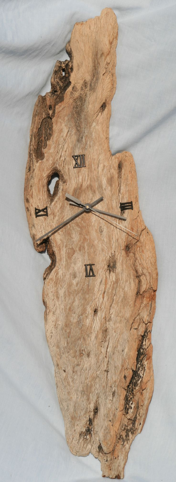 Driftwood Clock by Jan Dickers Ocean Art