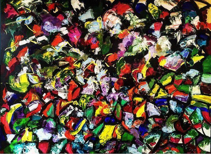 "29 aprecieri, 1 comentarii - BMR -🎨 painter (@bogdanmihairadu) pe Instagram: ""#Coloursorgy😁 250 / 200 cm #contemporaryart #artwork #Colours #orgy"""