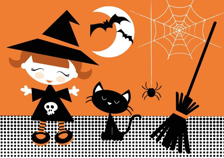 66 best Flat Halloween Wallpapers images on Pinterest ...