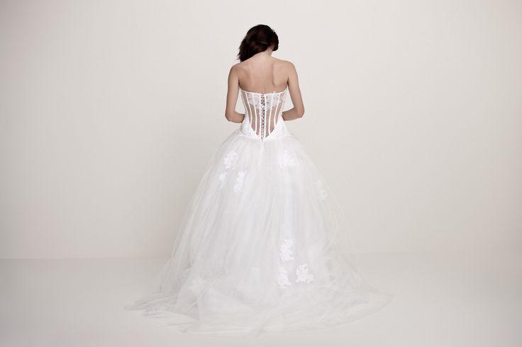 Daalarna Wedding Dress - White Collection