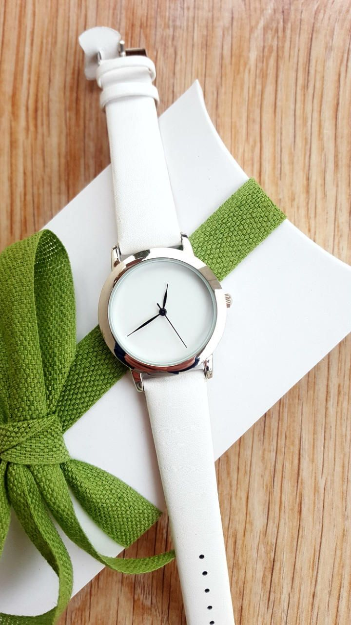 Minimalist White Watch, Women's Jewellery, Summer Watch, Fashion Watch, Handmade Watch, Valentines Gift, Romantic Gift by IrishFashionWatches on Etsy