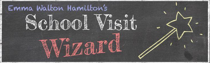 School Visit Wizard | Emma Walton Hamilton