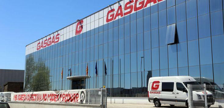 Façana del fabricant de motocicletes Gas Gas que a partir d'ara serà gestionada per Torrot.