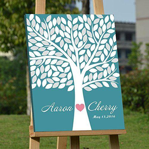 Custom Wedding Guest Book Alternative Art Canvas Print Si... https://www.amazon.com/dp/B01FSJHO10/ref=cm_sw_r_pi_dp_7klAxbAJDSJFQ