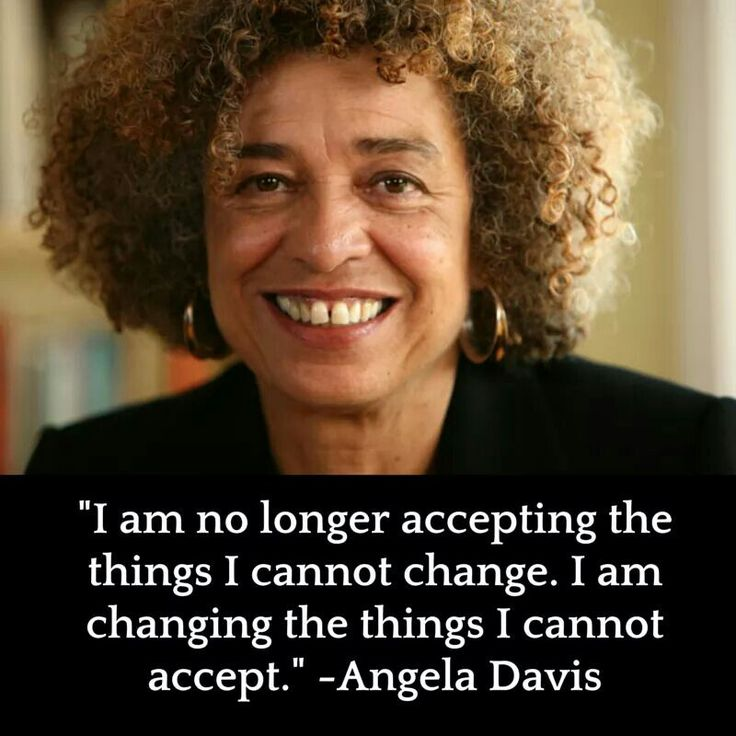 Quote by Angela Davis >< >< Years ago, I did a television talk-show. Among the celebrities that I was fortunate to interview, was one Dr. Angela Davis. She was in my city attending & promoting a women's conference, that frankly, I, nor the station was aware of. I even had to pick her up. I wish I could tell you all of the details of the day, but I'll say this: she slid out of every opportunity I used to make to her talk about herself ,by encouraging her  protege whom she'd brought along.