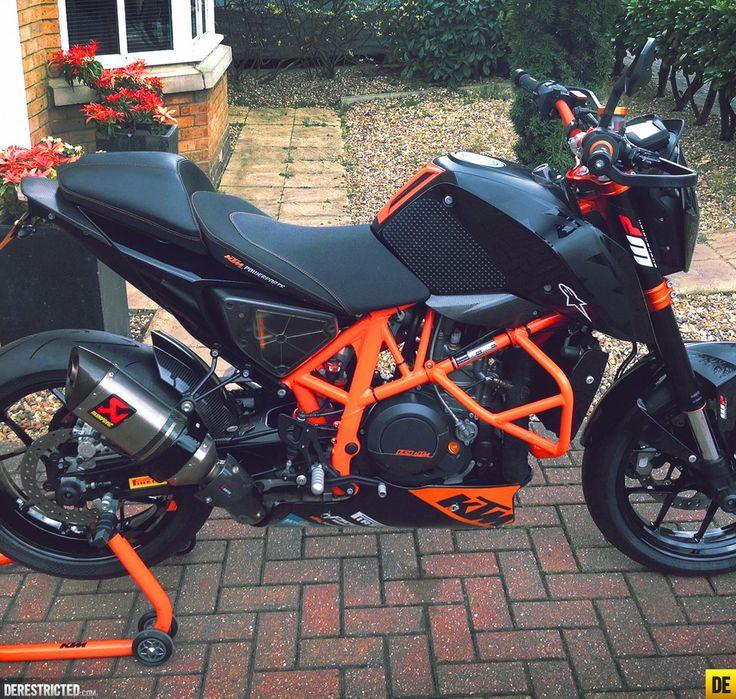 Russ's Black and Orange KTM 690 Duke « Featured « DERESTRICTED