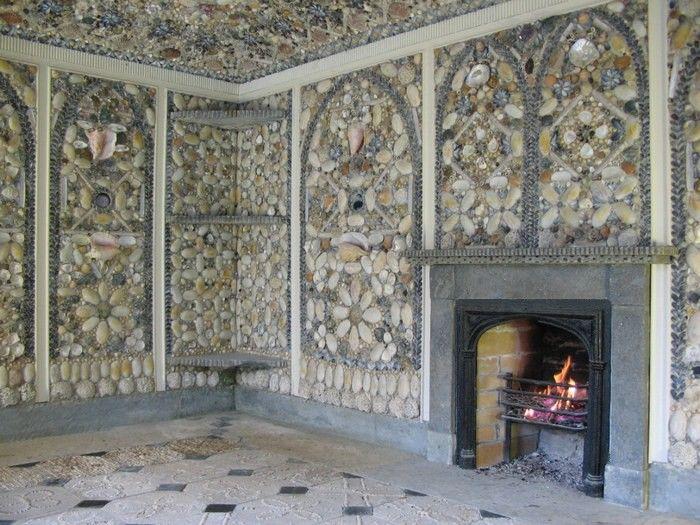 Cilwendig Shell House; shell design by Blott Kerr-Wilson