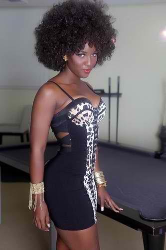 girls Black dominican republic
