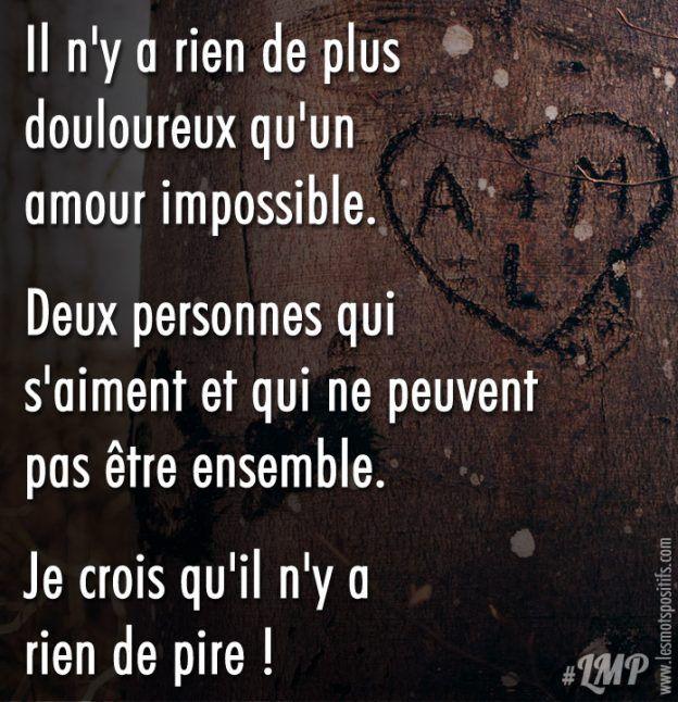 Amour Impossible Amour Impossible Citation Colere Et Citation