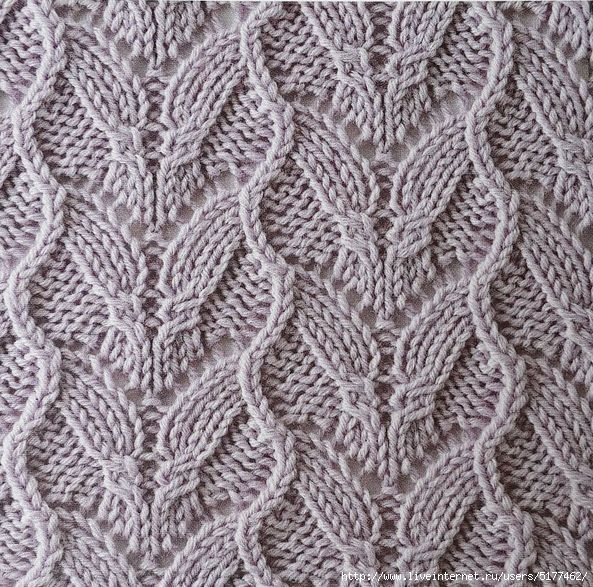 25+ best ideas about Lace knitting stitches on Pinterest Lace knitting patt...