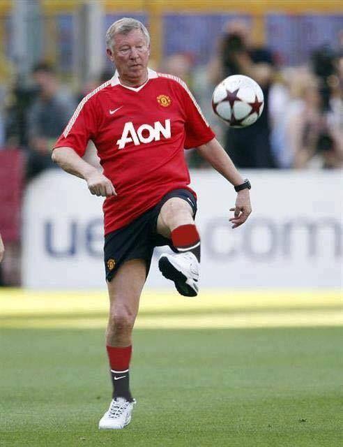 Old Trafford Faithful Sir Alex Ferguson.....