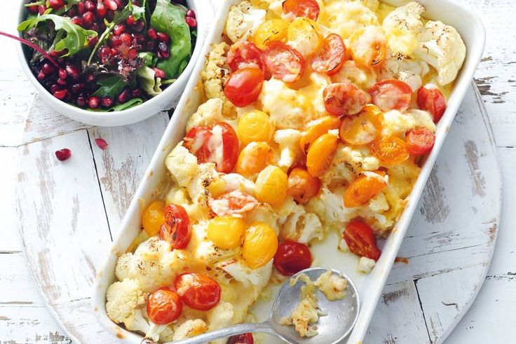 7 april - Bloemkool in de bonus -Een dag zonder brood, pasta of rijst is een feestje met deze lekker hartige omelet - Recept - Allerhande