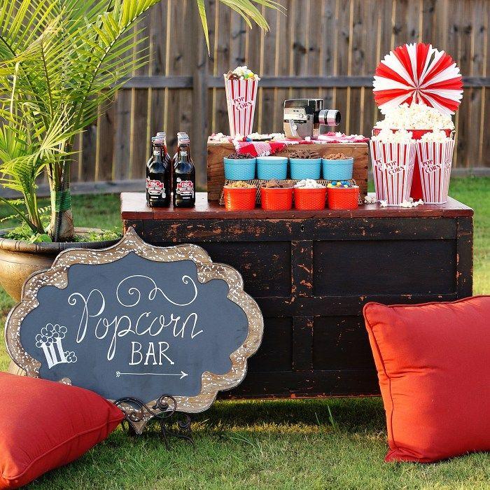 No-Fuss, All-Fun Popcorn Bar - a southern discourse
