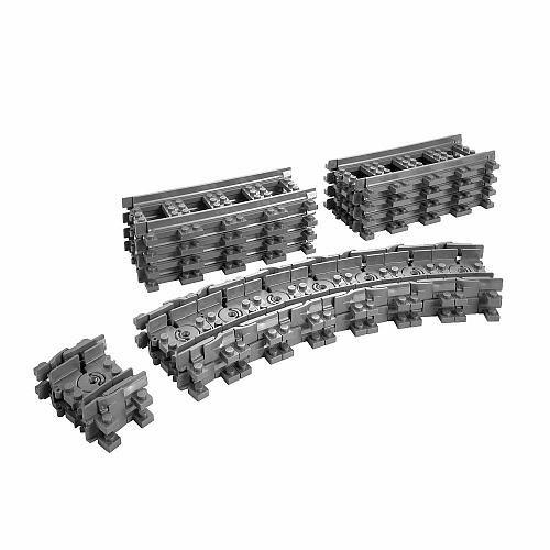 "LEGO City Flexible Train Tracks (7499) - LEGO - Toys ""R"" Us"