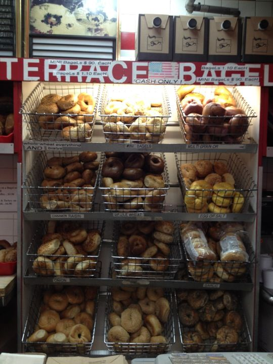 Terrace Bagels in Brooklyn, NY (some of the best bagels in NY)