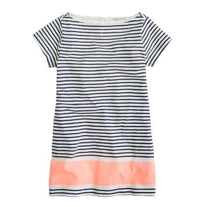 Girls' stripe tee dress / JCrew {adult sizes please!}: Tees Dresses, Fashion Shoes, Girls Generation, Crew Cut, J Crew Dresses, Stripes Tees, Jcrew Dresses, Stripes Dresses, Kid