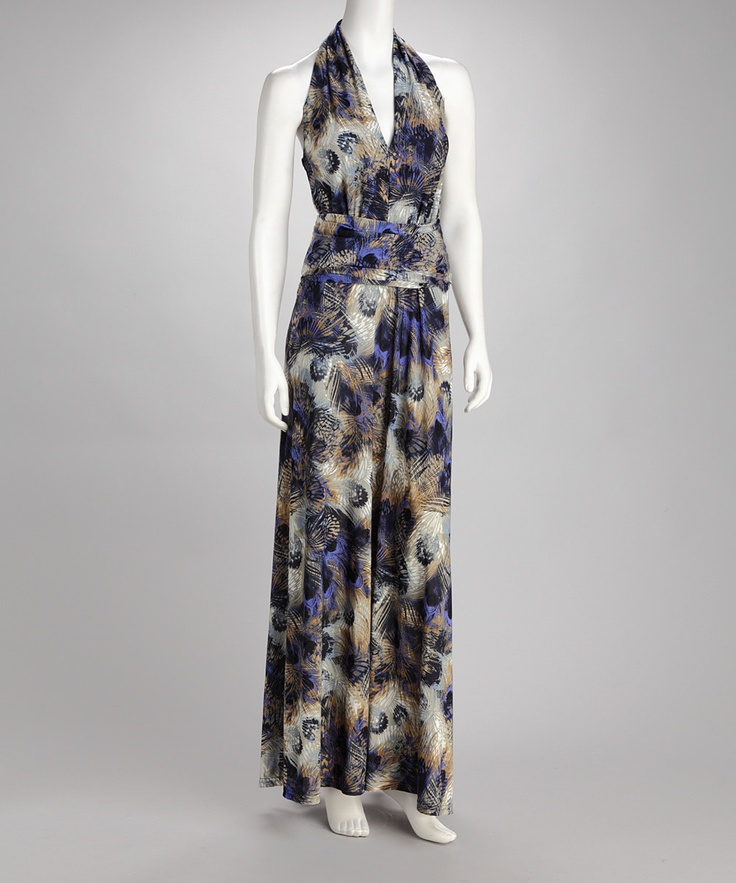 Blue Peacock Maxi Dress | Daily deals for moms, babies and kidsMaxi Dresses, Peacocks Maxis, Maxis Dresses, Blue Peacocks