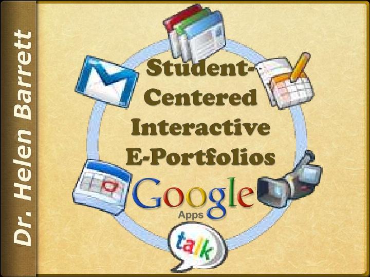Student Centered Interactive e-portfolio