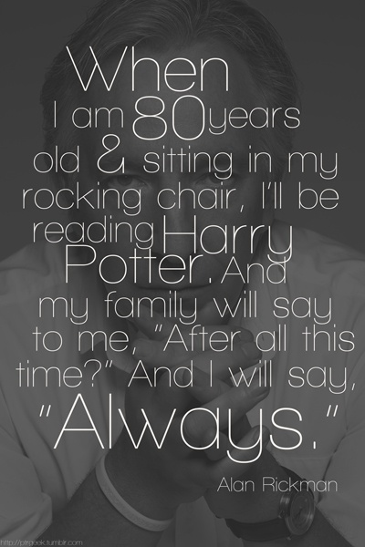 alan rickman dear me a letter to my 16 year self 17 images about harry potter cast on harry 336