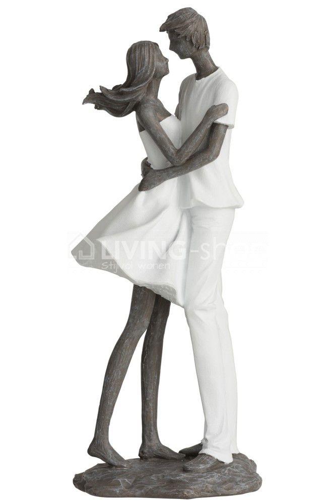 Modern Statuette Couple Women With Man J Line Vrouw Tekening Man Vrouw Vrouw