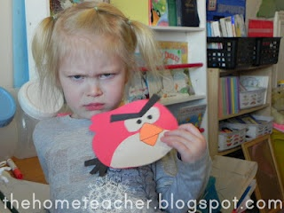 using angry birds to help with anger management for kids