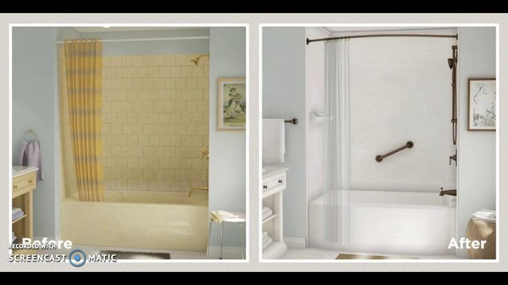 Before and After Bath Fitter