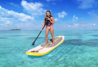 Paddle Board Rentals by Cayman Islands Boat Rentals.